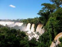 Iquazu falls waterfall  Argentina nacional park Royalty Free Stock Photo