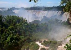 Iquazu falls waterfall  Argentina nacional park Royalty Free Stock Image