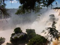 Iquazu falls waterfall  Argentina nacional park Stock Photography