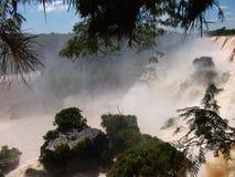 Iquazu falls waterfall  Argentina nacional park Stock Photography