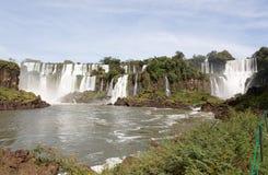 Iquazu-Wasserfall Lizenzfreies Stockfoto