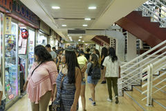 01-03-2017 Iquique, Чили Мол Zofri comercial Стоковые Фотографии RF