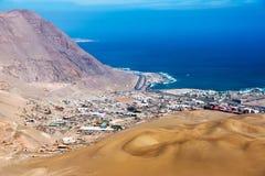 Iquique Chile Arkivfoto