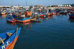 Iquique Harbour Royalty Free Stock Photos