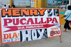 Iquitos - il Perù Fotografia Stock Libera da Diritti