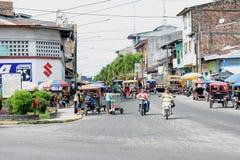 Iquitos Morotcycles y MotoKars Imagenes de archivo