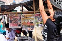 Iquitos - Peru Royalty-vrije Stock Afbeelding