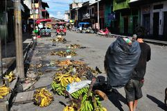 Iquitos - Peru. Cleaning. Market of Belen in IQUITOS . Department of Loreto .PERU stock images