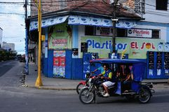 Iquitos - Peru. Market of Belen in IQUITOS. Department of Loreto .PERU royalty free stock photography
