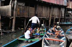 Iquitos - Peru. Palafito - Market of Belen in IQUITOS . Department of Loreto .PERU stock image