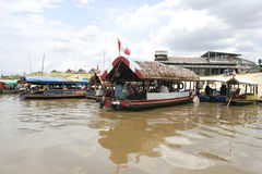 Iquitos Port, Peru, South America Stock Photography