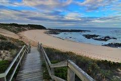 Ir à praia Fotografia de Stock Royalty Free