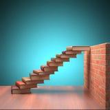 Ir acima ao sucesso Foto de Stock