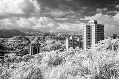 IR cityscape Stock Photography