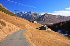 Ir de excursión área del camino Foto de archivo libre de regalías