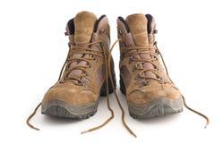 Ir de excursión los zapatos Imagen de archivo libre de regalías