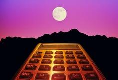 Ir moon Imagem de Stock
