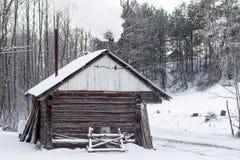 Ir para a sauna Fotografia de Stock Royalty Free