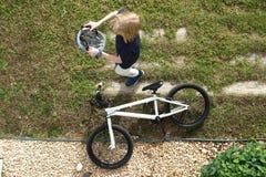 Ir para um passeio da bicicleta Imagem de Stock