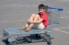 Ir para uma compra do fim de semana Imagem de Stock