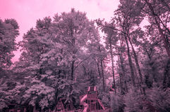 IR playground Royalty Free Stock Images