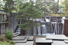 Ira克勒喷泉在波特兰,俄勒冈 图库摄影