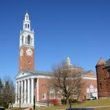 Ira Allen Chapel, UVM, Burlington, Vermont. Ira Allen Chapel in University of Vermont (UVM) in downtown Burlington, Vermont, USA Royalty Free Stock Image