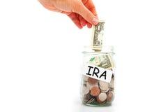 IRA besparingar royaltyfri bild