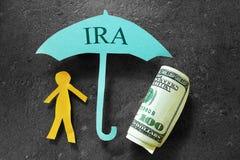 IRA-Einsparungen Stockfoto