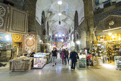 Irański bazar Obrazy Royalty Free