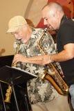Ira Sullivan en Kampioen Flavix Stock Foto's