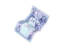 Iraaks geld stock foto