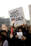 IRAANS PROTEST TEGEN OVERHEID Royalty-vrije Stock Afbeeldingen