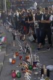 IRAANS PROTEST TEGEN OVERHEID Stock Foto's