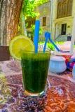 Iraanse Groene Mojito-Drank stock foto