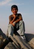 Iraanse jongen Royalty-vrije Stock Afbeeldingen