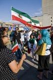 Irainians в Торонто, Канаде, demostrating стоковые изображения