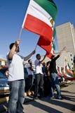 Irainians в Торонто, Канаде, demostrating стоковое изображение rf