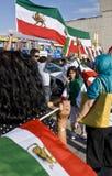 irainians toronto Канады demostrating стоковые изображения rf