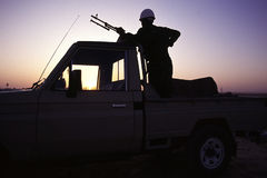 1993 Irak del nord - Kurdistan Fotografie Stock