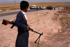 1993 Irak del nord - Kurdistan Fotografia Stock Libera da Diritti
