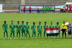 Irak drużyna Fotografia Royalty Free