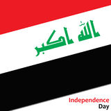 Irak independence day Royalty Free Stock Image