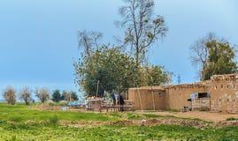 Irakijska wieś fotografia royalty free