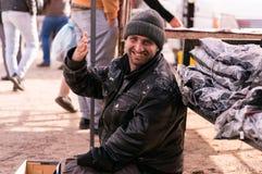 Irakischer Bettler lizenzfreie stockfotografie