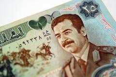 Irakisches Geld stockfoto