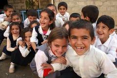 Irakiska barn fotografering för bildbyråer