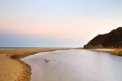 Irakli beach, Black Sea Coast, Bulgaria Stock Image