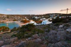 Iraklia island. Royalty Free Stock Photos