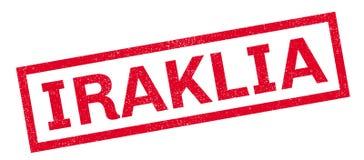 Iraklia rubber stamp Stock Image